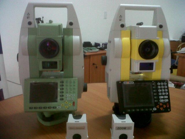 Leica y Geomax ambas parte de grupo Hexagon